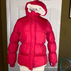 Lands end kids winter puffer jacket